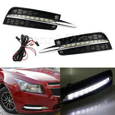 Exact Fit LED Daytime Running Light  Fog Lamp Kit  for Chevy Cruze 2009-2014 09