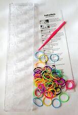NEW FRIENDSHIP LOOM SET MAKE ELASTIC RUBBER BAND JEWELLERY BRACELETS PMS 544004