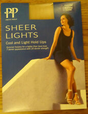 Pretty Polly Sheer Lights Golden Glow One Size