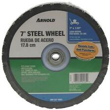 "NEW ARNOLD 490-321-0001 7"" X 1.50"" STEEL BALL BEARING LAWN MOWER WHEEL 7267057"
