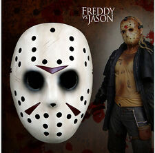 Halloween Resin Hockey Mask Adult size Fancy Dress Friday The 13th Jason Freddy