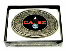 Case Belt Buckle Tractor Harvester Farm American Eagle Western SpecCast Licensed