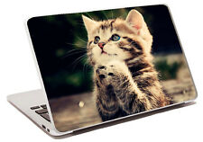 cute cat laptop skin sticker protective cover notebook different styles a31 wolf