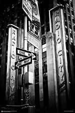 RADIO CITY MUSIC HALL POSTER - 24x36 NYC NEW YORK CITY LANDMARK 4171