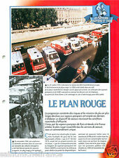 le Plan Rouge Station RER Saint-Michel Paris Sapeurs Pompiers FICHE FIREFIGHTER