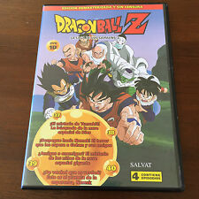 DRAGON BALL Z. DVD 10 - CAPS 37 A 40 - 100 MIN - ED REMASTERIZADA SIN CENSURA