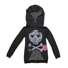 Abbey Dawn Avril Lavigne Heartcore Ladies Black Zip Hoody X-Small