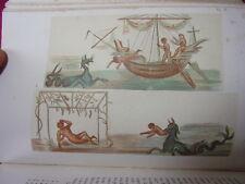 ROME SOUTERRAINE  résumé des découvertes 1877 Chromos & Gravures