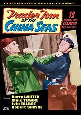 TRADER TOM OF THE CHINA SEAS - Cliffhanger serial! 2 disc HARRY LAUTER