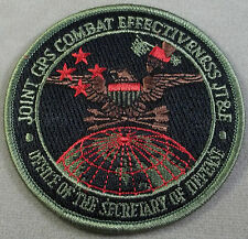 US Armed Forces Joint GPS Combat Effectiveness JT&E Program Patch