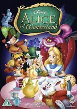 ALICE IN WONDERLAND DISNEY DVD - GOLD OVAL - 60TH ANNIVERSARY ** FREE P&P **