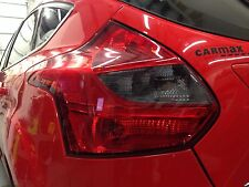 2012-2014 FORD FOCUS HATCH REVERSE TAIL LIGHT PRECUT TINT COVER SMOKED OVERLAYS