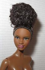 (B) NUDE BARBIE (B) ~ RAVEN BASIC MODEL #8 003 MUSE AA MBILI DOLL FOR OOAK
