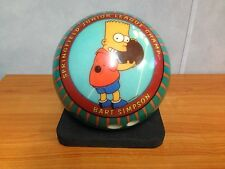 Rare Bart Simpson Bowling Ball - USBC VIZ-A-Ball - Excellent Condition with Bag
