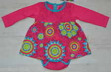 DESIGUAL BABY KLEID VEST DRESS ELENA MIT BODY 67V38A3 2 IN 1 Gr. 68 / 6 mon