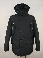 TIMBERLAND MENS WATERPROOF DOWN FEATHER JACKET PARKA size S WINTER ARCTIC