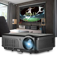 LED LCD Home Theater Projectors HD Movie Game Xbox USB HDMI VGA TV 4200LM 1080P