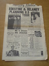 MELODY MAKER 1955 DECEMBER 24 BILLY ECKSTINE ERIC DELANEY TONY KINSEY   +