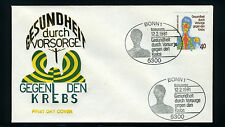 Germany, Scott #1348, Early Examination for Cancer Prevention, FDC, 1981