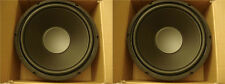 "NEW (2) 12"" SubWoofer Replacement Speakers.8 ohm.Woofer Pair Drivers.BASS.sub."