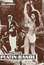 IFB 7920 | DIE PLATINBANDE | Vittorio de Sica, Robert Wagner, Raquel Welch | Top