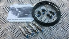 AUDI ALLROAD AIR SUSPENSION BYPASS 4MM VALVES, PIPE & CONNECTORS REPAIR FIX KIT