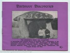 DARTMOOR DISCOVERIES - 12 photos & map - published pre-1965