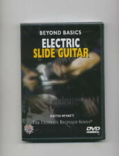 LEARN ELECTRIC SLIDE BLUES ROCK GUITAR *NEW* DVD