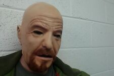 Walter White Mask Lattice 1973 Halloween Costume capo completo