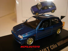 NEW NOREV RENAULT CLIO WILLIAMS au 1/43°