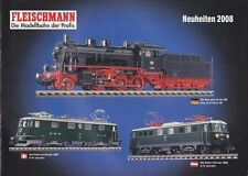 "Fleischmann 2008 ""New Items"" Catalogue"