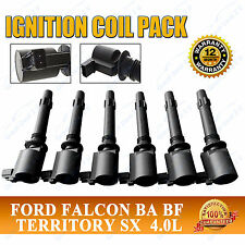 Ford Ignition Coils BA BF Falcon Fairlane Fairmont XR6 Territory SY LTD 6-Pack