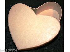Boite en carton en forme de coeur pour loisirs créatifs dragées mariage bapteme