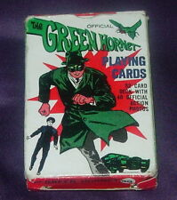 ORIGINAL  GREEN HORNET  PLAYING CARDS  1966  COMPLETE SET  TV  BRUCE LEE