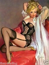 "Sexy Hot Pin Up Girl Vintage Art Photo Fridge Magnet 2""x3"" Collectibles"