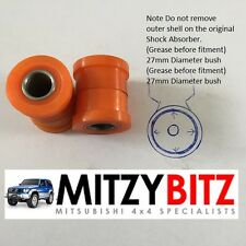 Mitsubishi L200 K74 K76 K77 96-07 FRONT LOWER Shock Absorber Bush Kit -