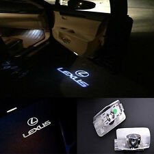 Laser LED Car Door Ghost Shadow Welcome Projector Lights Lexus LX RX GS GX LS A1
