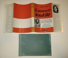 Fallaci IL SESSO INUTILE Rizzoli 1961 prima edizione fc