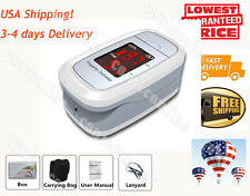 2-6 days Delivery Fingertip Pulse Oximeter, Blood Oxygen, Pulse Rate, SPO2, case