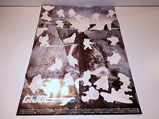 "VINTAGE GI JOE 1989 GI JOE MAIL OFFER ""STICKER POSTER"" UNUSED - HASBRO"