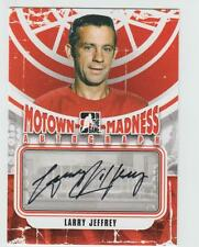 2012-13 ITG MOTOWN MADNESS Larry Jeffrey AUTOGRAPH CARD SIGNED