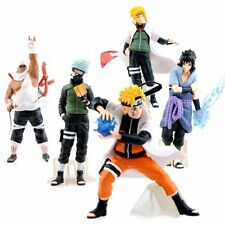 New 5pcs Saruke Nagato Naruto Anime 14cm PVC Dolls Action Figure Set Toys Gifts