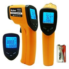 Nubee 8380H Non-contact Infrared Thermometer Temperature Gun with LaserSight LMM