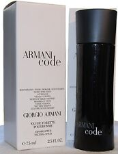 ARMANI CODE by GIORGIO ARMANI 2.5 EDT SPRAY (T) MEN COLOGNE 75 ML NEW TSTER BOX