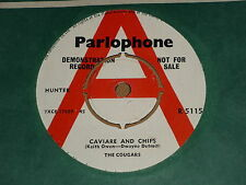 "Cougars ""Caviare And Chips"" Parlophone Demo 45"