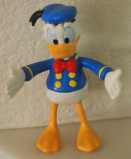 "Vintage Disney Donald Duck Posable Bendable Rubber 5"" Tall FREE SHIPPING"