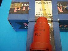 Vacuum Tubes / RADIO TUBES  - 6L7  MULLARD / Canada  RED  (5 NOS/NIB) (6 offers)
