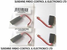 RC JR / Futaba Female Servo Extension Adapter To Male Molex 1.25mm Set Of 4 New