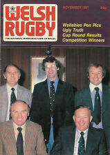 WELSH RUGBY MAGAZINE NOVEMBER 1981, WALLABIES TOUR, ROY JOHN NEATH, MAESTEG