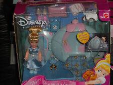 RARE 2003 DISNEY PRINCESS BEDTIME CARRIAGE CINDERELLA PLAYSET!!